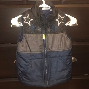 Boys Zip up vest